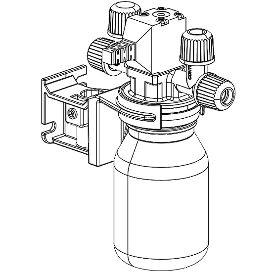 Evaporator valve unit for vacuum controller from Cole-Parmer