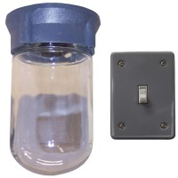 Incandescent Light Fixture for Canopy Hoods 110 VAC from ...