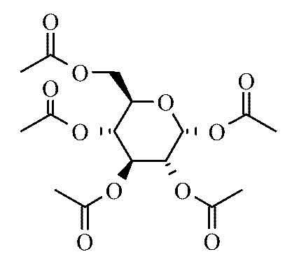 alpha D Glucose pentaacetate 98 25g from Cole-Parmer