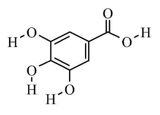 Gallic acid monohydrate c p 100g from Cole-Parmer