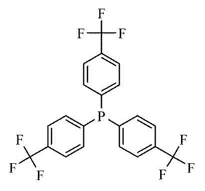 Tris 4 trifluoromethylphenyl phosphine 1g from Cole-Parmer