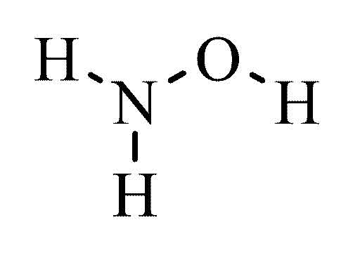 Hydroxylamine hydrochloride reagent ACS 96 100g from Cole