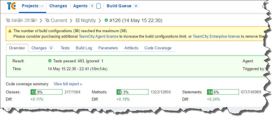 Nightly Build Overview