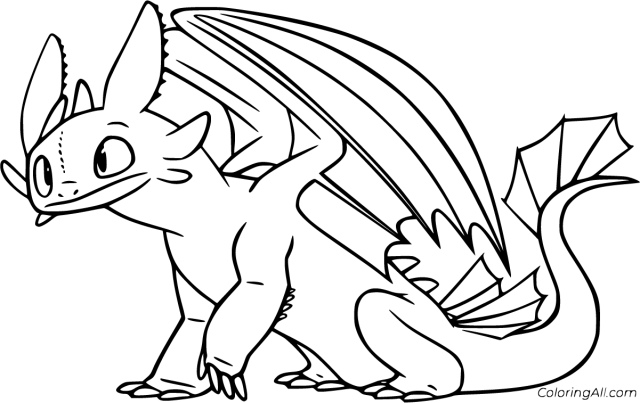 How to Train Your Dragon Coloring Pages - ColoringAll