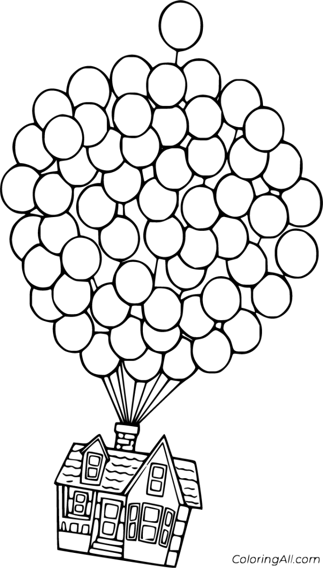 Up Coloring Pages - ColoringAll