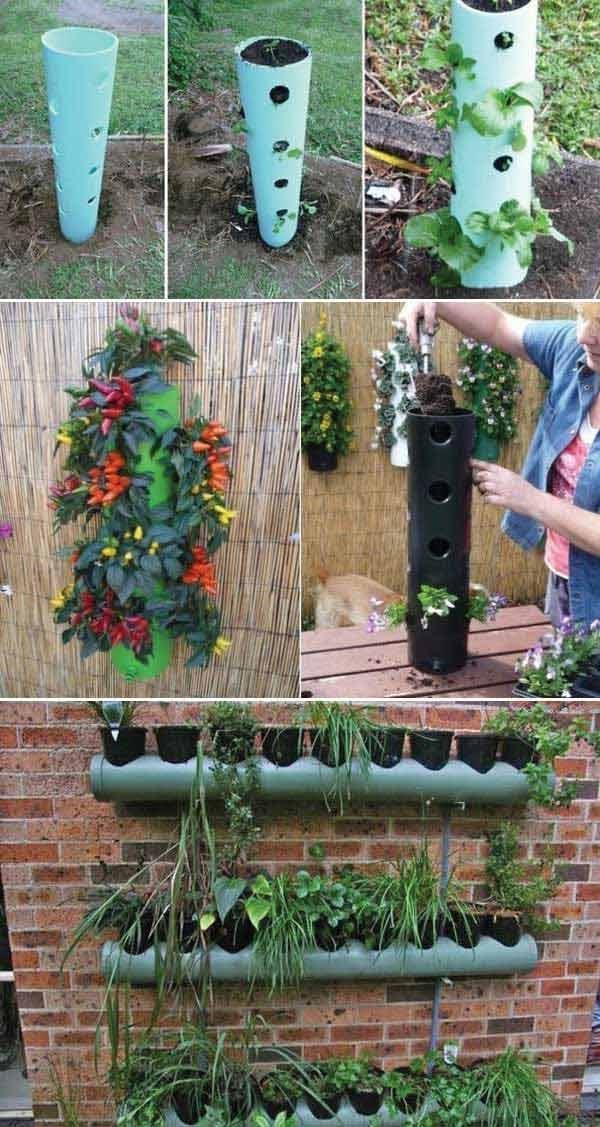 Jardin  20 Faons Ingnieuses dUtiliser les Tuyaux en PVC