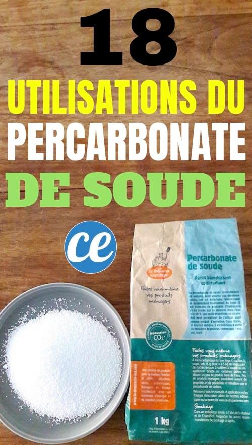 Percarbonate De Soude Et Bicarbonate Difference : percarbonate, soude, bicarbonate, difference, Utilisations, Étonnantes, Percarbonate, Soude, Toute, Maison.