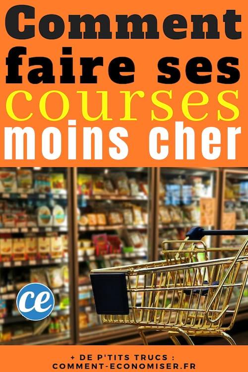 Faire Ses Courses Pas Cher : faire, courses, Faire, Courses, Moins, Astuce, Dépenser.