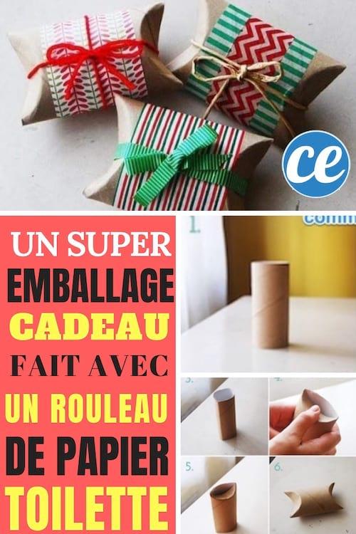 Emballer Ses Cadeaux Avec Du Tissu : emballer, cadeaux, tissu, Comment, Faire, Super, Emballage, Cadeau, Rouleau, Papier, Toilette.