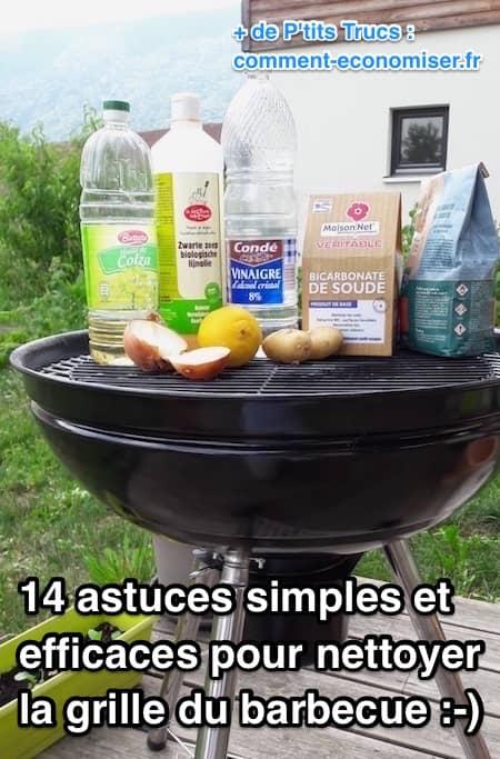 Comment Nettoyer Une Grille De Barbecue : comment, nettoyer, grille, barbecue, Astuces, Simples, Efficaces, Nettoyer, Grille, Barbecue.
