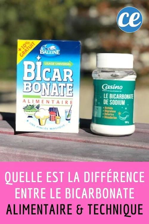 Quelle Est La Différence Entre Le Bicarbonate De Soude Et Le Bicarbonate Alimentaire : quelle, différence, entre, bicarbonate, soude, alimentaire, Quelle, Différence, Entre, Bicarbonate, Alimentaire, Technique
