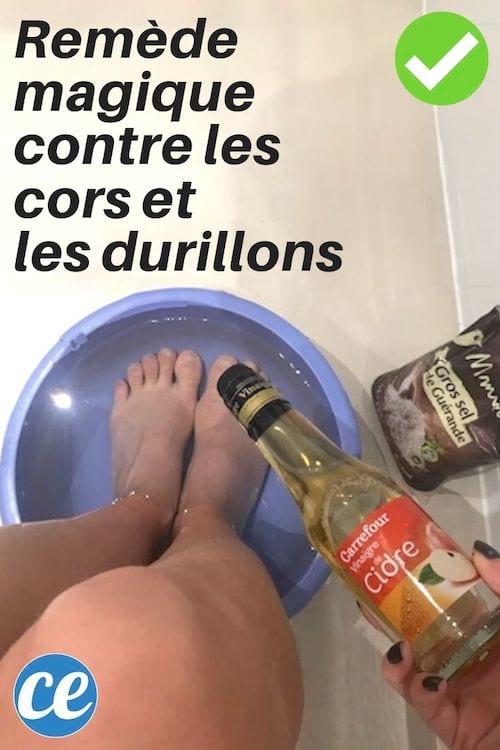 Bain De Pied Au Gros Sel : Remède, Magique, Adieu, Durillons, Pieds.