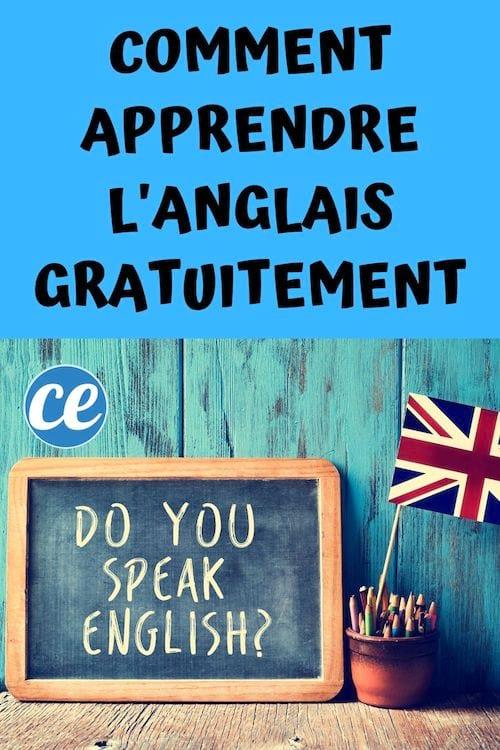Astuces pour apprendre l'anglais gratuitement