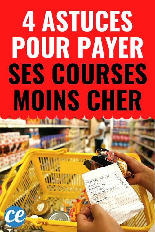 Faire Ses Courses Pas Cher : faire, courses, Astuces, Faciles, Payer, Courses, MOINS, Cher.