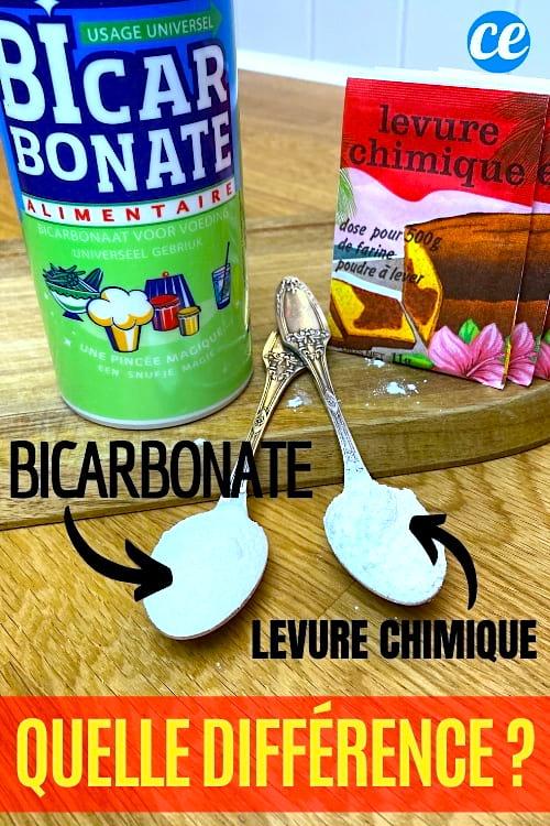 Quelle Est La Différence Entre Le Bicarbonate De Soude Et Le Bicarbonate Alimentaire : quelle, différence, entre, bicarbonate, soude, alimentaire, Quelle, Différence, Entre, Bicarbonate, Soude, Levure, Chimique