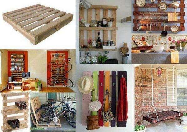 35 facons originales de faire des meubles avec des palettes