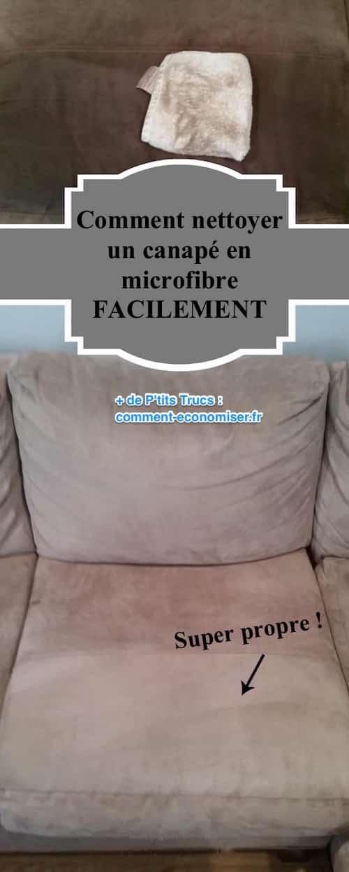Comment Nettoyer un Canap en Microfibres FACILEMENT
