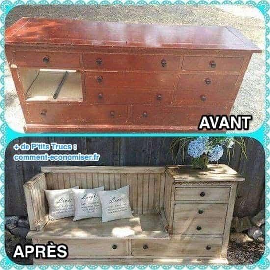 une seconde vie aux vieux meubles