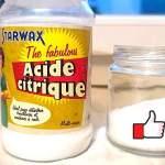 6 Astuces à l'Acide Citrique Pour Tout Détartrer et Nettoyer à la Maison.