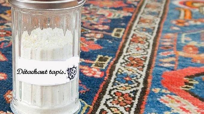 quelle tache sur un tapis