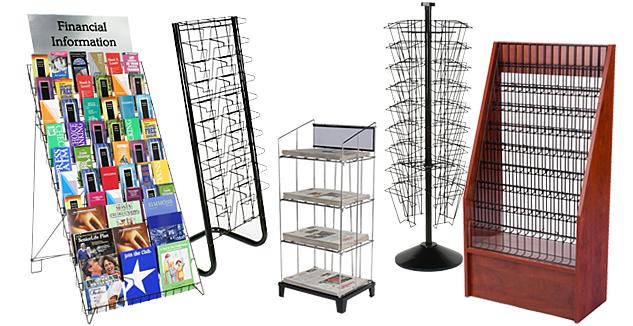 wire display racks merchandising