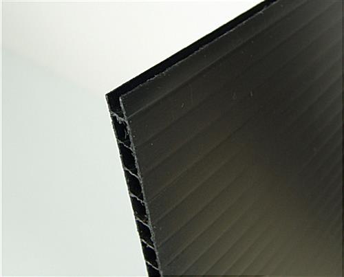 27 x 40 poster frame for wall plastic corrugated backer plastic frame black