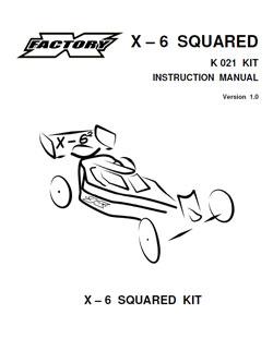 X-Factory Manuals