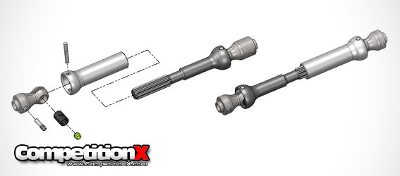 MIP Center Drive Spline CVD Kit for Axial Vehicles