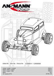 Ansmann Racing Hot Rod Manual