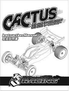 3Racing Cactus Buggy Manual