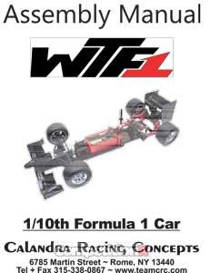 CRC WTF1 Manual