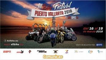 Comunicae colabora con AllBike Festival Puerto Vallarta 2018 en la distribución de boletines de prensa