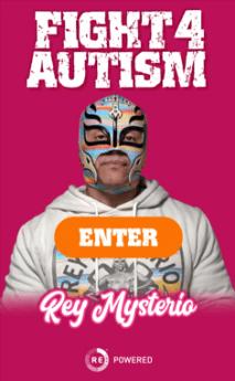 Rey Mysterio, la leyenda de la lucha libre, lanza campaña global a favor de los niños con autismo