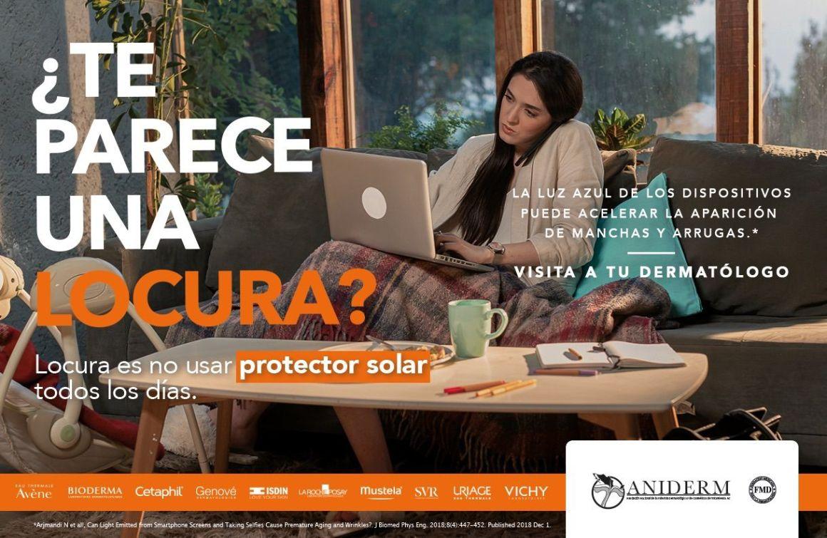 Mustela se une a la campaña: '¿Te parece una locura?... Locura es NO usar bloqueador solar todos los días' 1