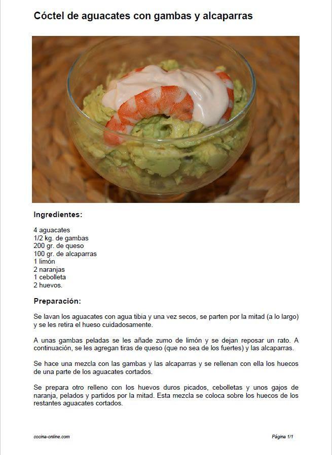 Cocina Online la pgina para publicar y compartir recetas