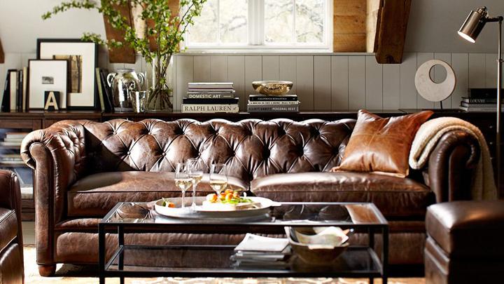 Un sof chester y cuatro estilos de saln  Notas de prensa