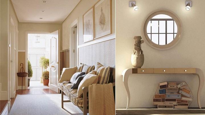 Los mejores colores para pintar el recibidor del hogar
