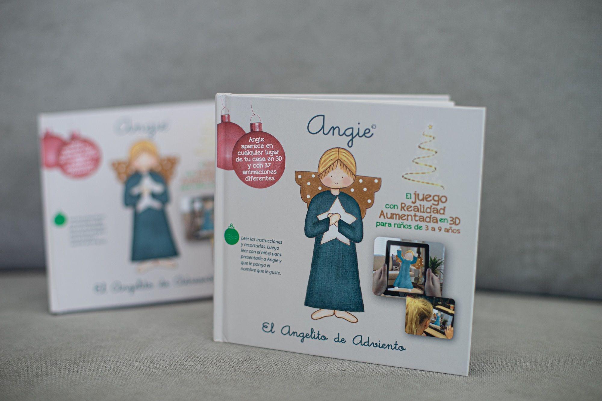 Disciple Toys presenta Angie, el innovador juego de adviento con realidad aumentada en 3D