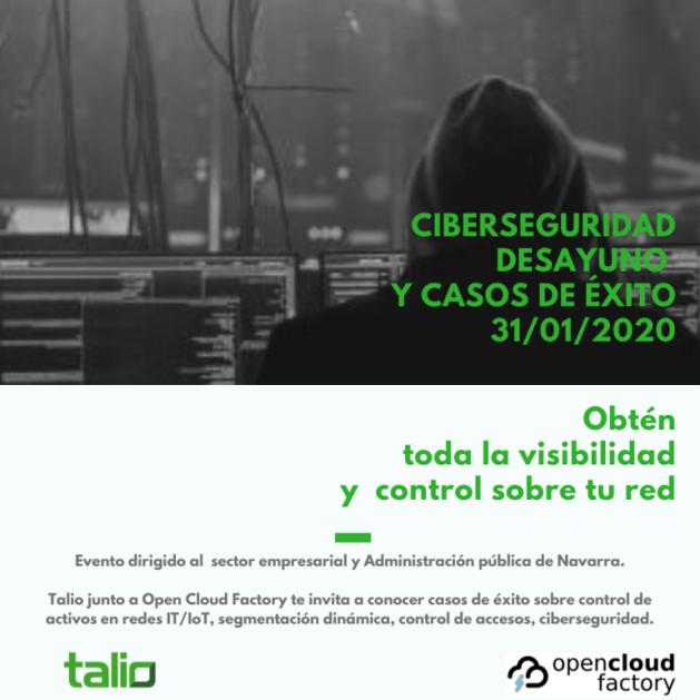 Talio y Open Cloud Factory acercan la Ciberseguridad a Empresas y AA.PP. Navarras