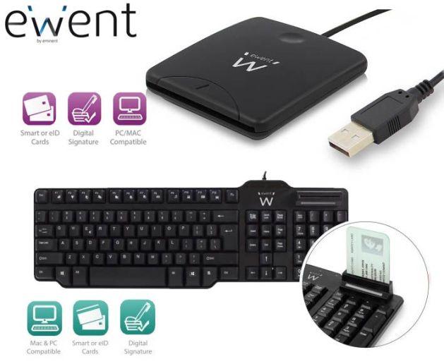 Ewent facilita las gestiones desde casa gracias a sus lectores de DNI y tarjetas inteligentes