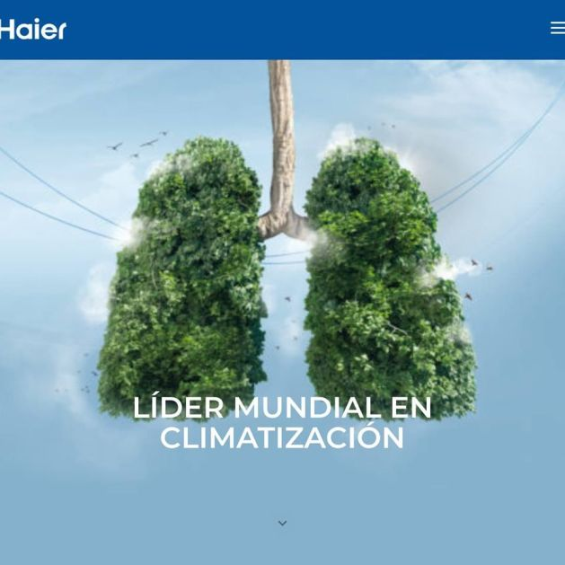 Haier Aire, una web adaptada a los nuevos tiempos