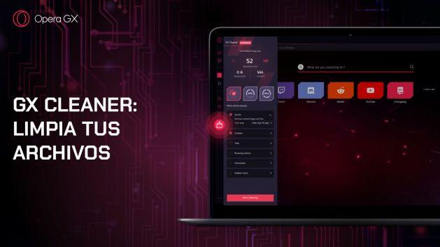 Opera GX presenta nuevos temas de color y GX Cleaner para purgar archivos antiguos