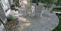 Concrete Patio - Patio Ideas, Backyard Designs and Photos ...