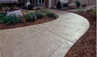 Concrete Sidewalk Design - Decorative Options for a ...