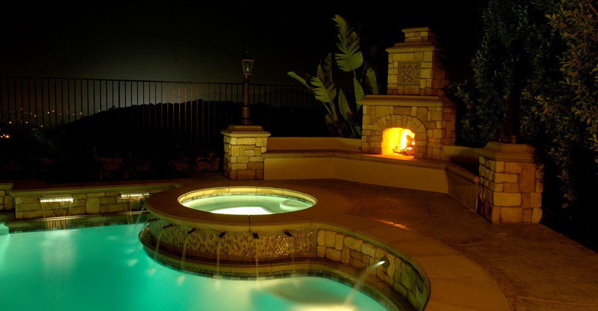 Outdoor Fireplace  Backyard Fireplace Designs and Ideas  The Concrete Network
