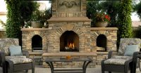 Outdoor Fireplace - Backyard Fireplace Designs and Ideas ...