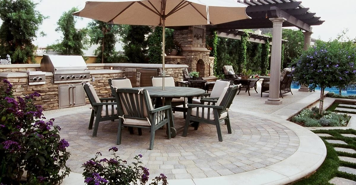 Concrete Patio Floor Photos And Design Ideas The Concrete Network