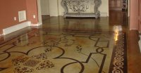 Stenciling Concrete - Creating Concrete Patterns with ...