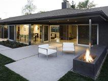 modern concrete patio ideas finishes