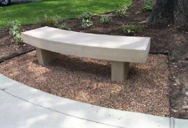 outdoor concrete furniture custom